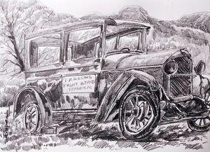 Old Vintage Car-6