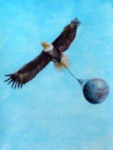 Eagle & earth