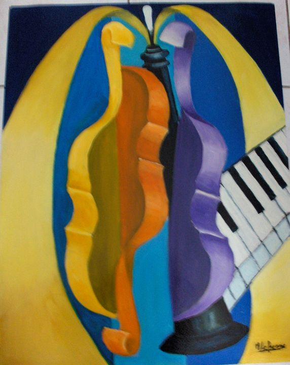 piano and violin - lefresne michel