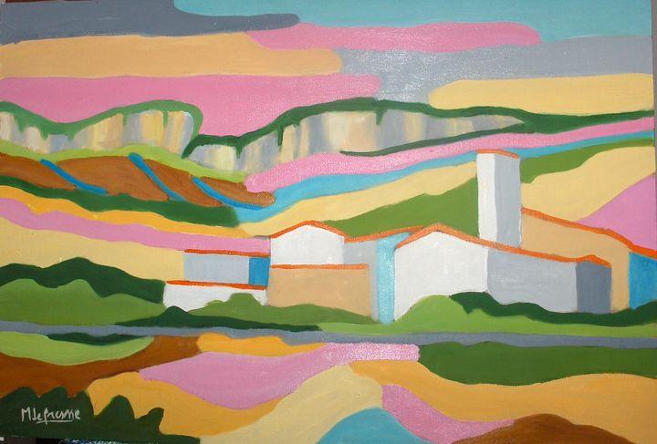 village of Corconne  Gard Fance - lefresne michel