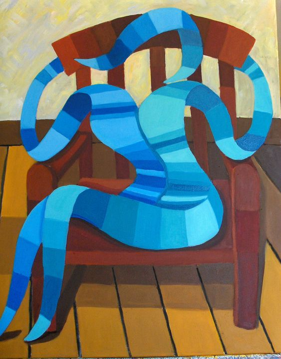 in the chair - lefresne michel