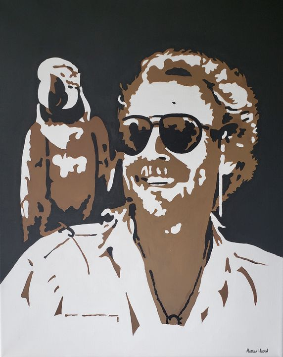 Classic Jimmy Buffett with Parrot - Prrthd Products