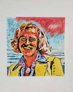 Classic Colorful Jimmy Buffett - Prrthd Products