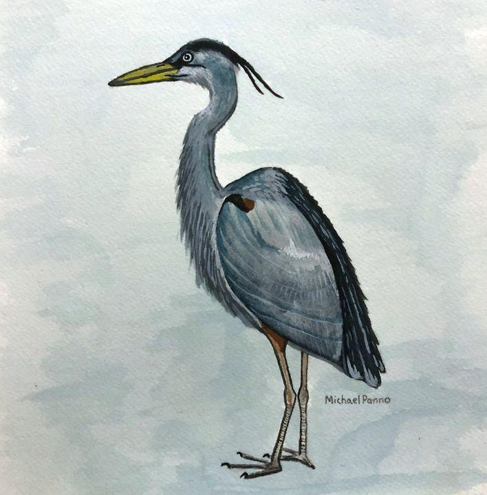 Great Blue Heron - Michael Panno