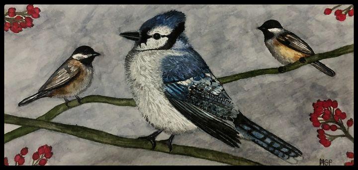 Blue Jay Portrait - Michael Panno