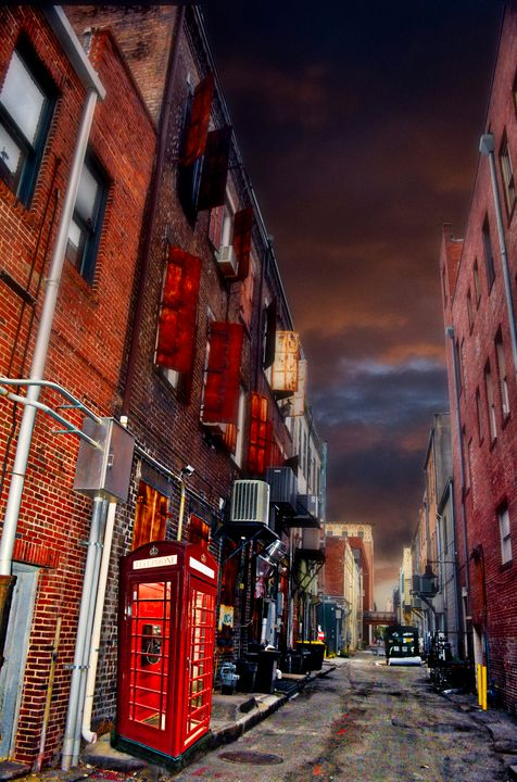 Dark Alley Call - Departure & Design