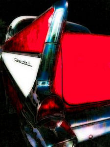 Tail Fin Red
