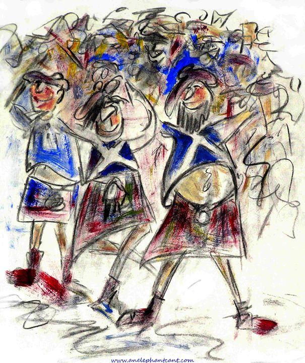 The Tartan Army - AnElephantCant