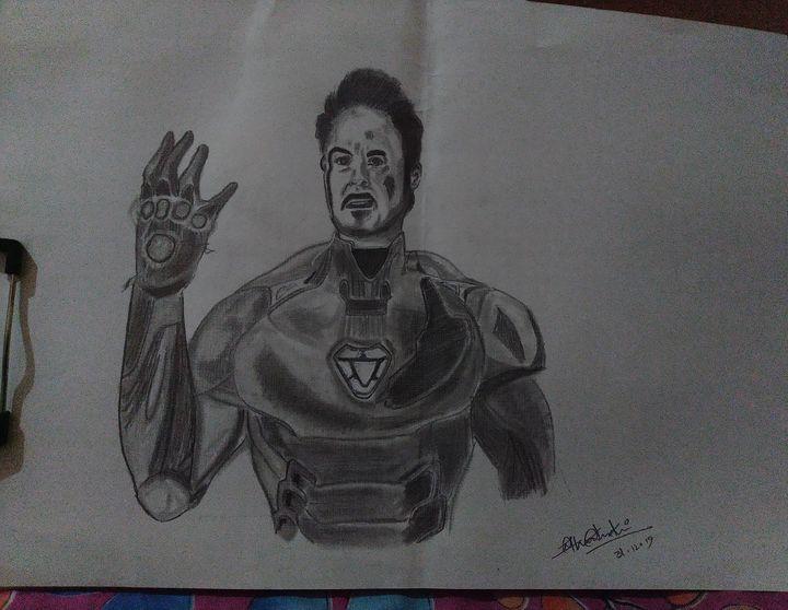 Endgame Ironman - Sketchograph