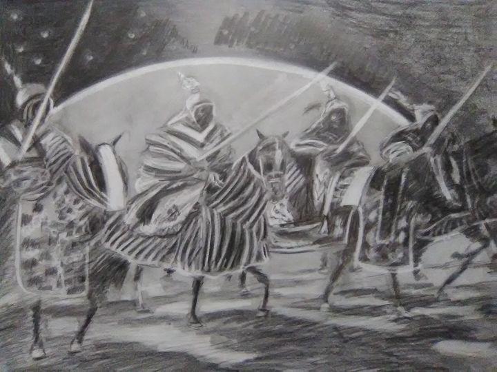 twilight warriors - Craig Fielder It`s All In My Hands Art Production