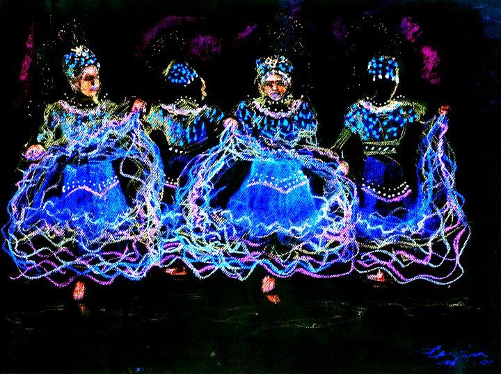 Dancers In The Dark - Craig Fielder It`s All In My Hands Art Production