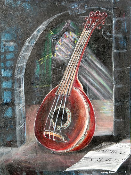 The Red Mandolin - Craig Fielder It`s All In My Hands Art Production
