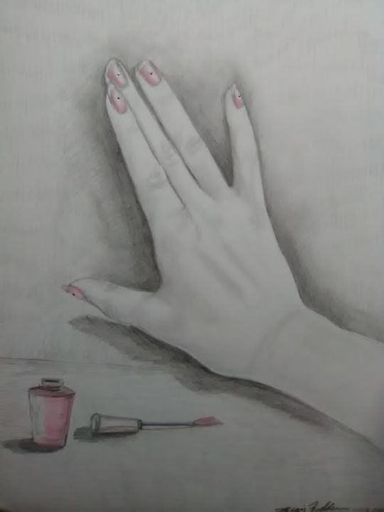 Nails - Craig Fielder It`s All In My Hands Art Production