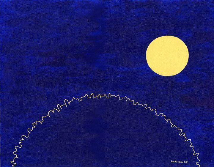 The Moon Above Cricklewood - Antalia