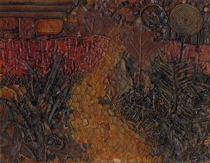Garden Path - Eva Koudela's Art