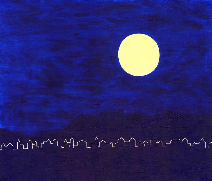 The Moon - Eva Koudela's Art