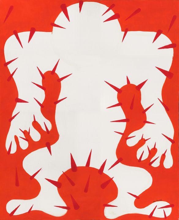 Negative Man - Eva Koudela's Art
