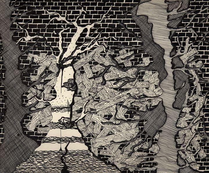 Brick Wall - Eva Koudela's Art