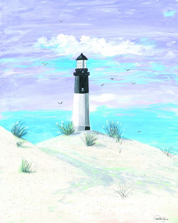 Lighthouse at Tybee Island #201902 - Rudy L Hodges