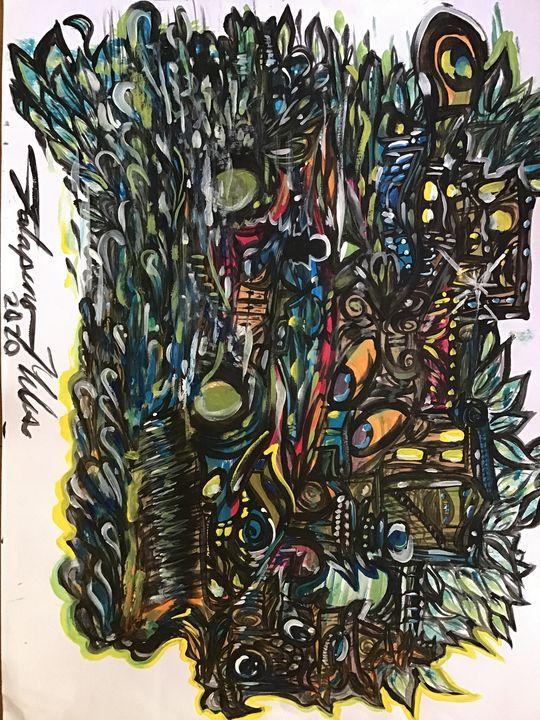 Swiping up feathers - Jalapeno Miles
