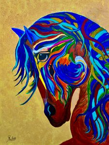 Galloping Horse - Caballo a Galope