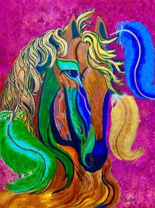 Horse in Carnival