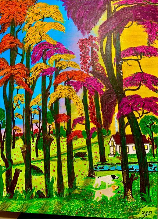 Autumn trees - RuthSG