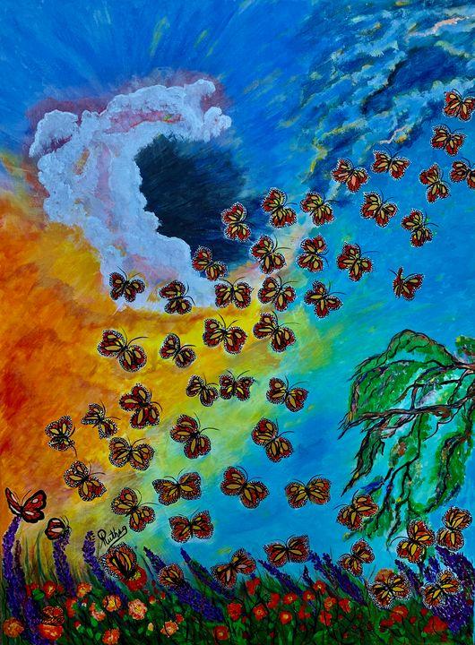 Monarch Butterflies - RuthSG