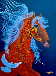 Fire Horse of Love