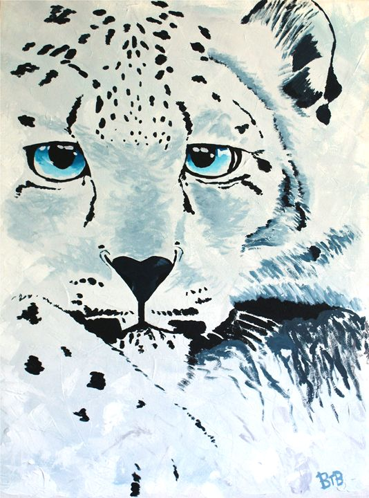 Snow Leopard - Brett Paints