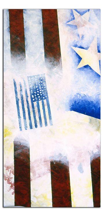 Flag abstraction #5 - Brett Paints