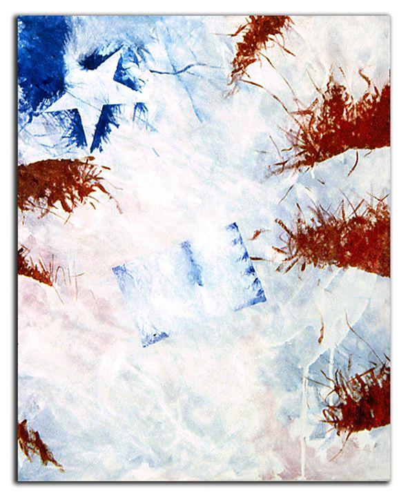 Flag abstraction #1 - Brett Paints