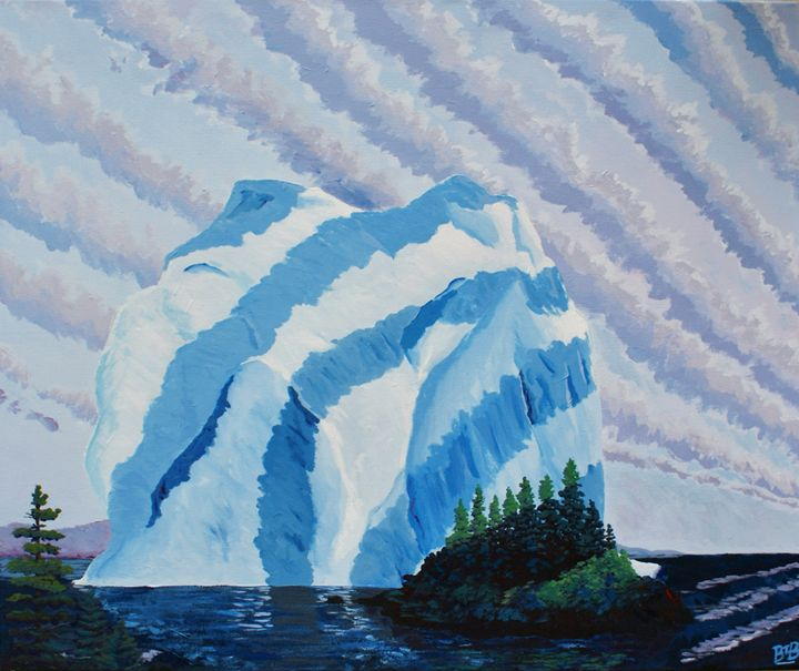 Spring Thaw - Brett Paints