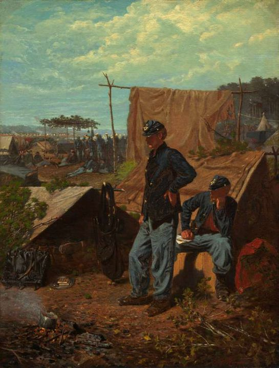 Home, Sweet Home. Winslow Homer - GreatArt.Gallery