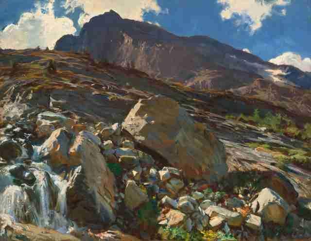 Simplon Pass John Singer Sargent - GreatArt.Gallery