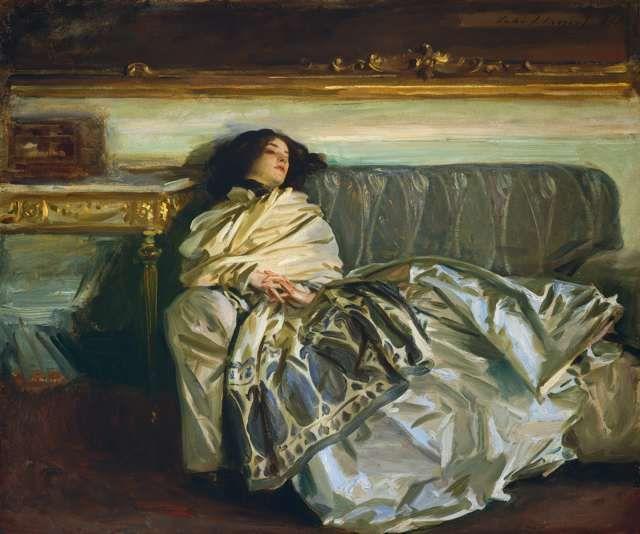 Nonchaloir (Repose) John S. Sargent - GreatArt.Gallery