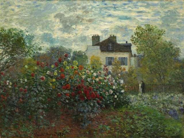 The Artist's Garden in Argenteuil - GreatArt.Gallery