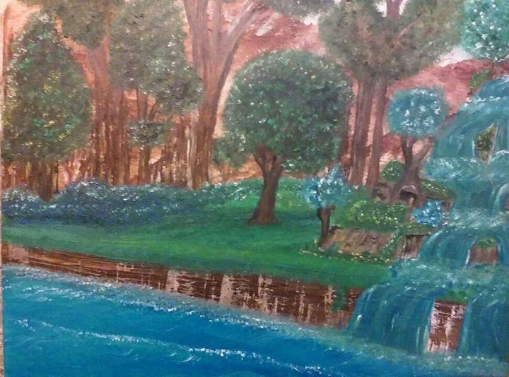 Peaceful River -  Mandothornton10