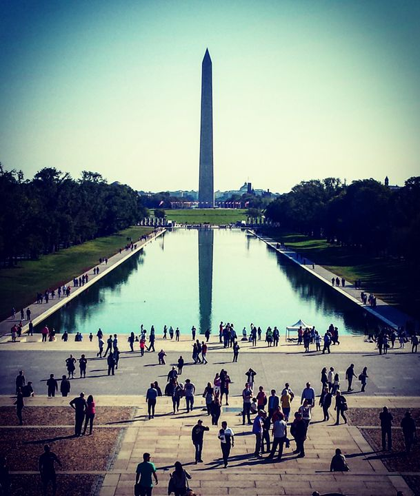 Reflectin Pool & Washington Monument - Amanda Hovseth