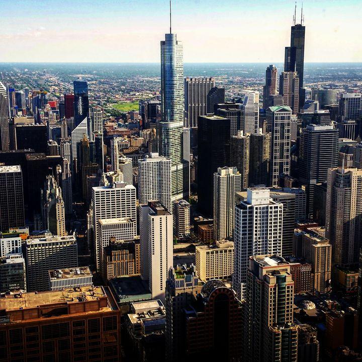 Chicago Skyline - Amanda Hovseth