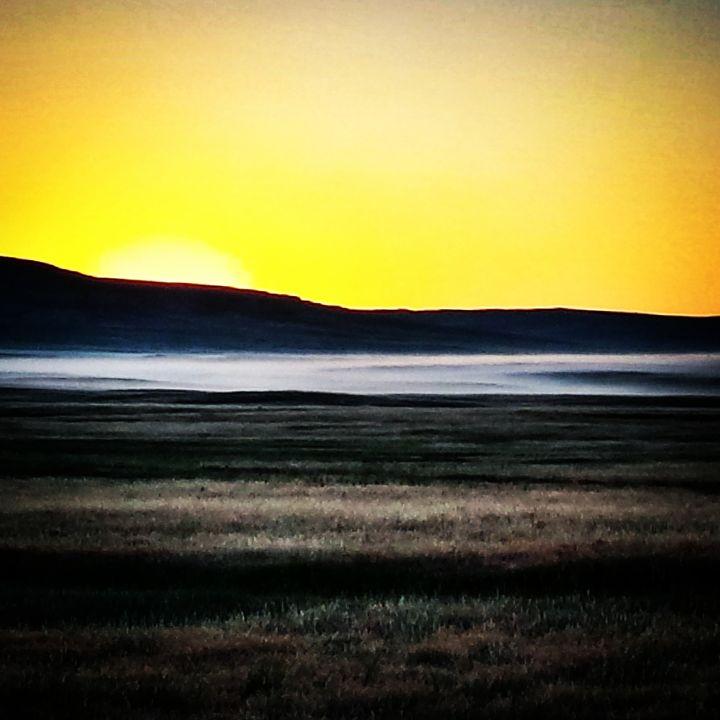 Foggy Sunrise - Amanda Hovseth