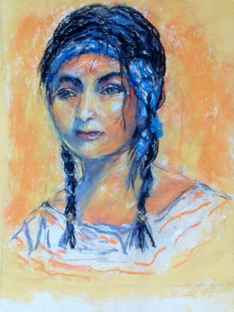 An Indian Woman - Winnifred Liang
