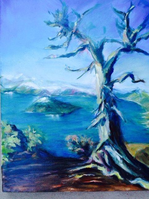 Crater  Lake, Oregon - Winnifred Liang