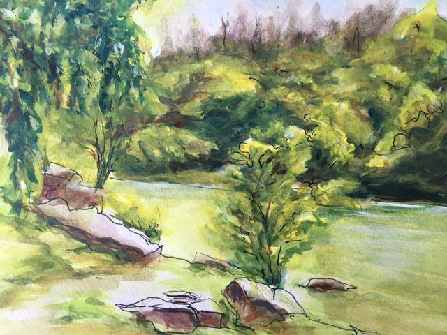 River Mokeluemne - Winnifred Liang