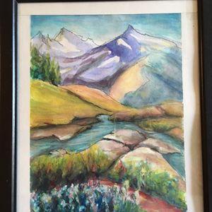 An Alpine Range,
