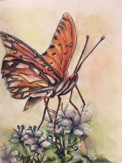 A Butterfly - Winnifred Liang
