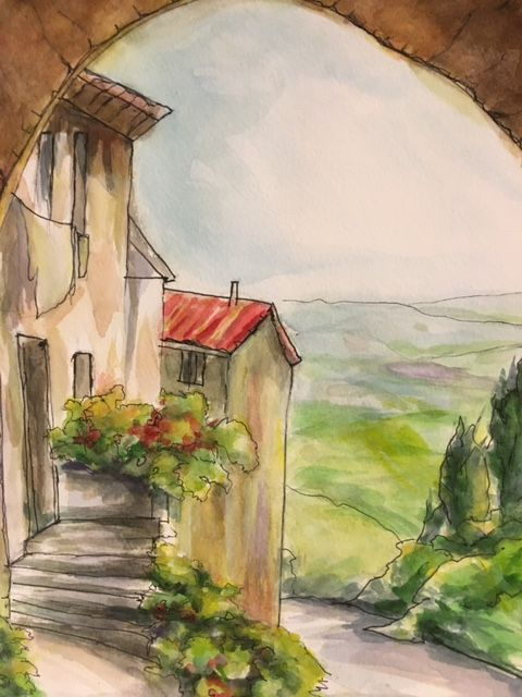 The Italian Villa - Winnifred Liang