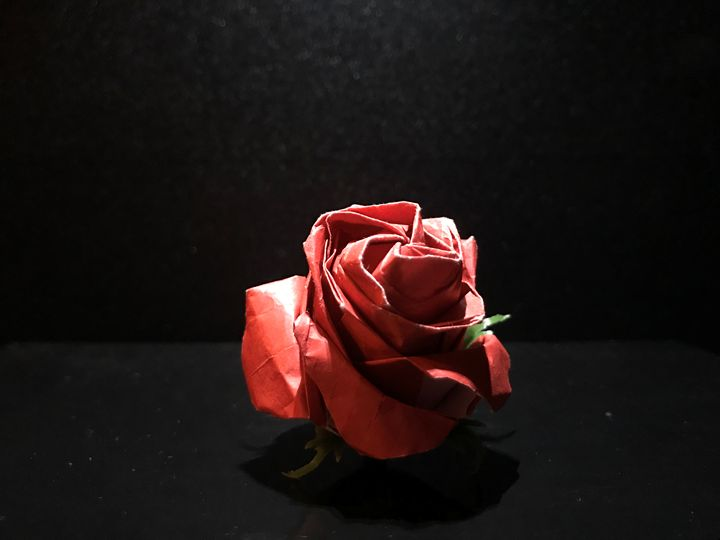 Origami Rose - Art by Kay