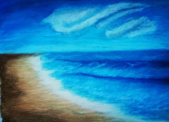 Waves at SeaShore - Get Amazing with Arjun