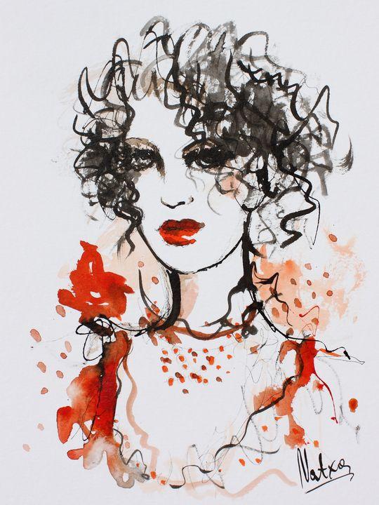 Mademoiselle - NATXA Art